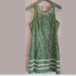 Lilly Pulitzer Chomp Chomp Gator Green Dress